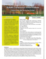 Bulletin municipal n°12 septembre 2016