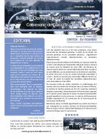 Bulletin municipal n°10 février 2015