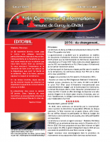 Bulletin municipal n°11 decembre 2015